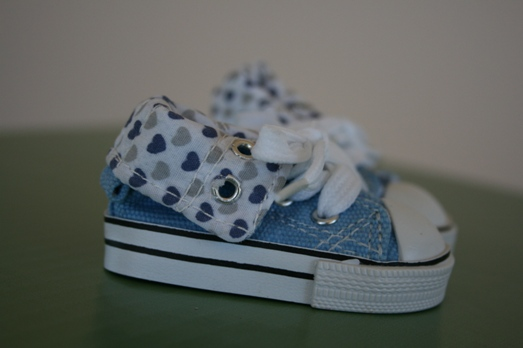 Blue Heart sneaker