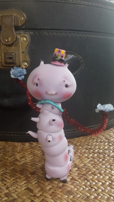 Chou Chou ooak violette