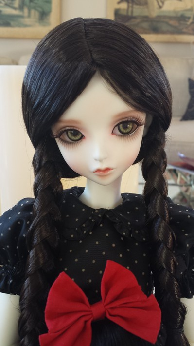 "9""-10"" Warm Black Braid"