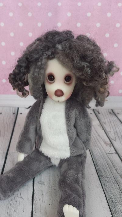 """7""""-7.5"""" Natural wools wig"""