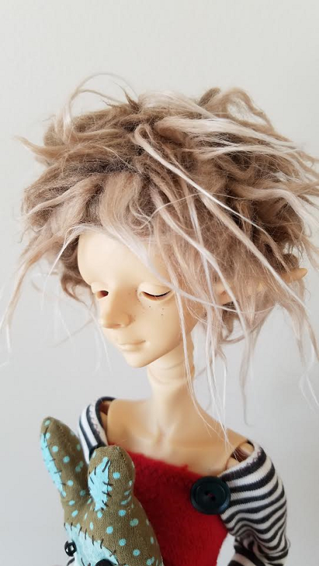 "7"" Faux Fur Woodland wig"