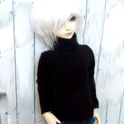 Black Turtleneck MSD