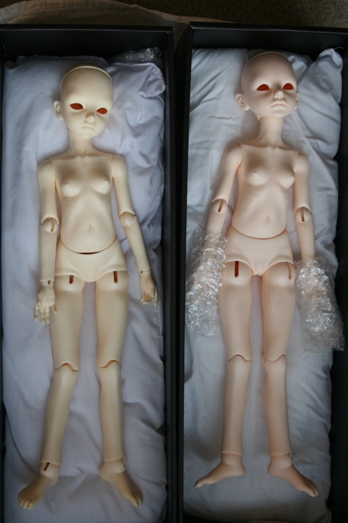 Planet Doll Normal resin comparisson