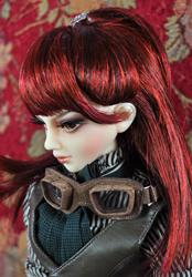 "Cristy Stone wig 8.5-9.5"""