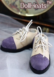 Purple toe shoe unisex