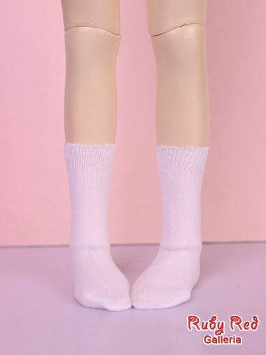 White short stocking