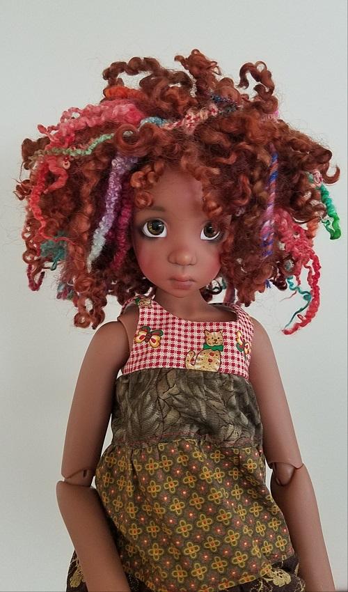 """8.5"""" wools and yarns ooak wig"""