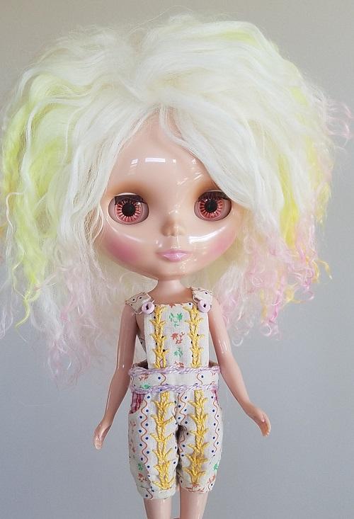 OOAK mohair wig