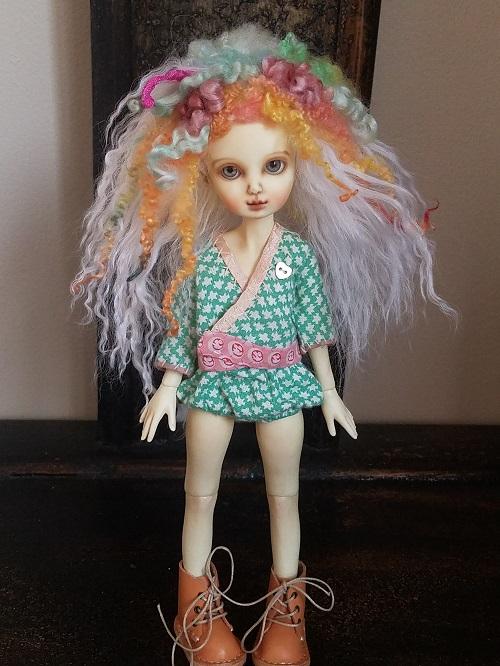 """6"""" Spring Fun mohair wig"""