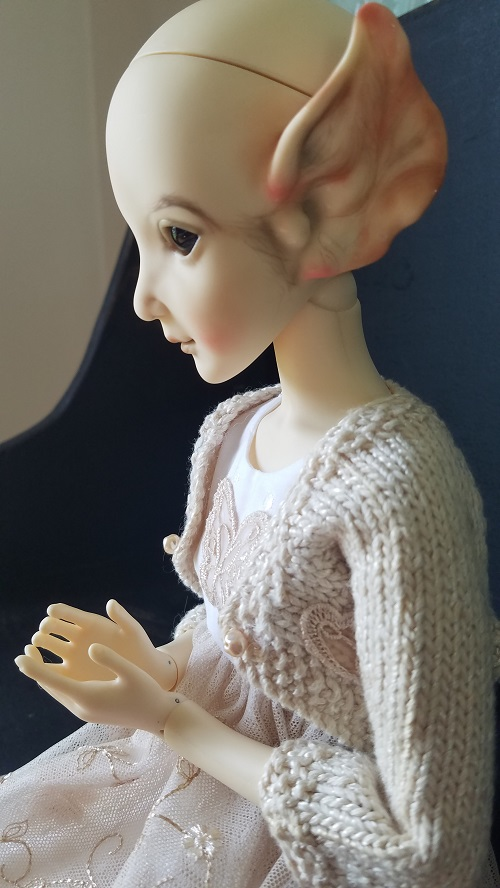 Ooak Shiny Doll Eefee Elf