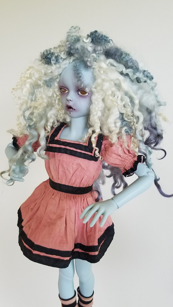 "8"" Ghost wig"