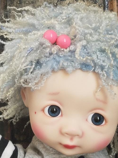 """14"""" OOAK tiny ringlet wig"""