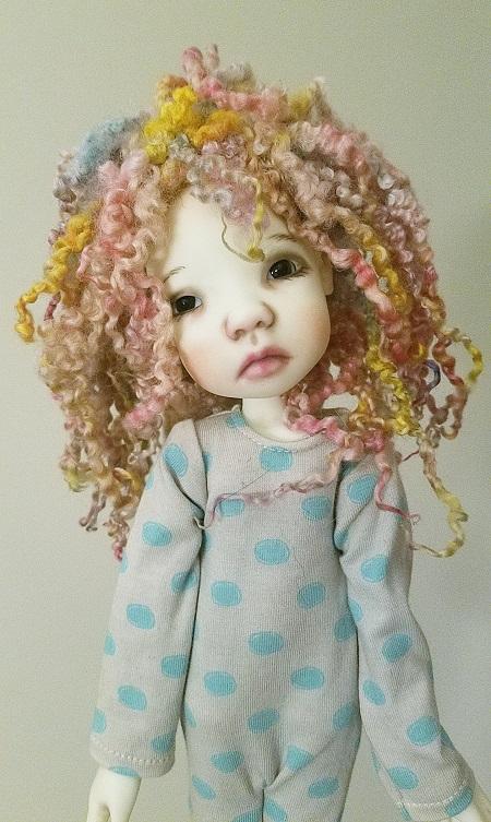 """7"""" OOAK wools wig"""