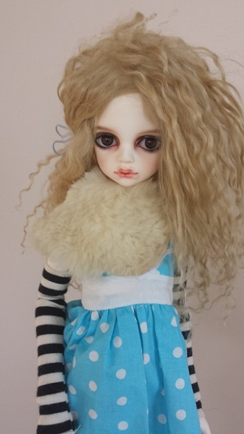 7 - 8 inch Mohair Wigs
