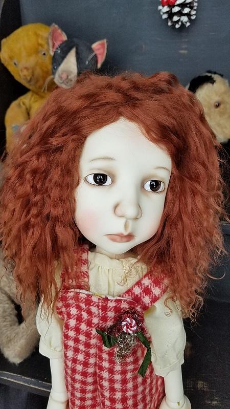 "12"" Stella Auburn Tibet wig"
