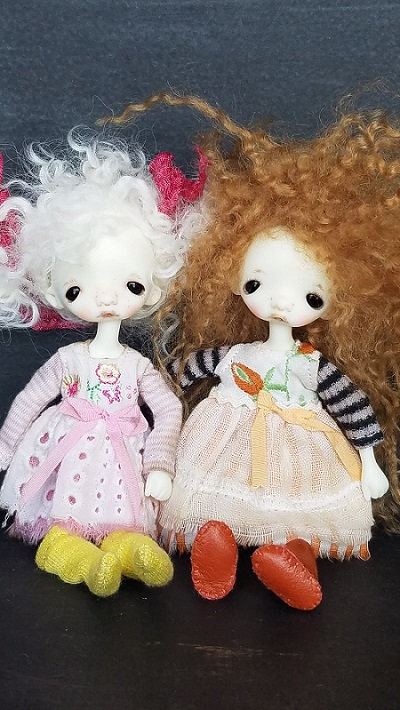 Ooak Sleepy dolls