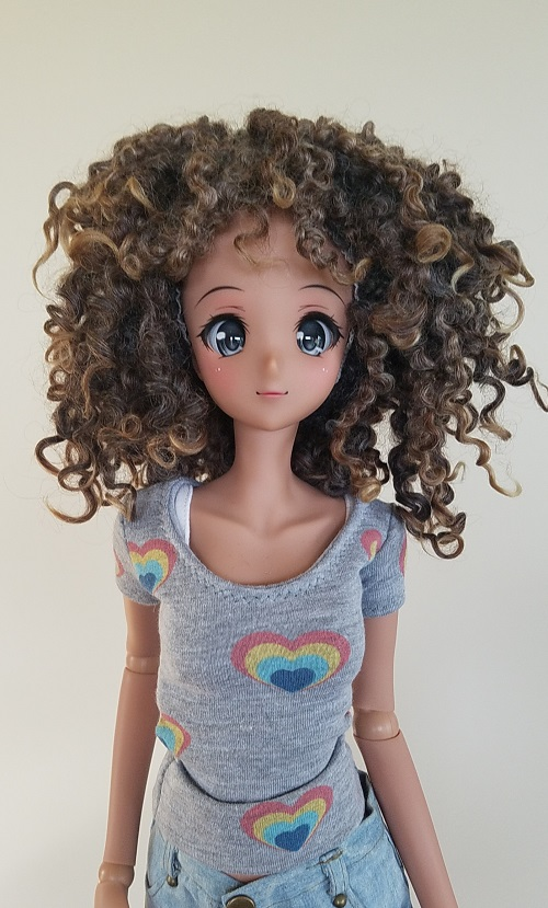 "9"" Loppy Lock wig"