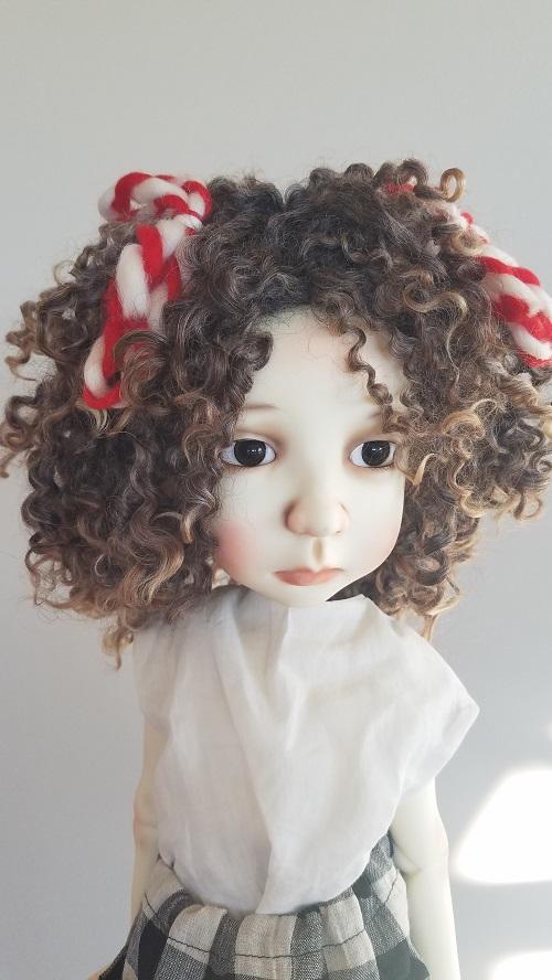 Big Stella natural curls wig