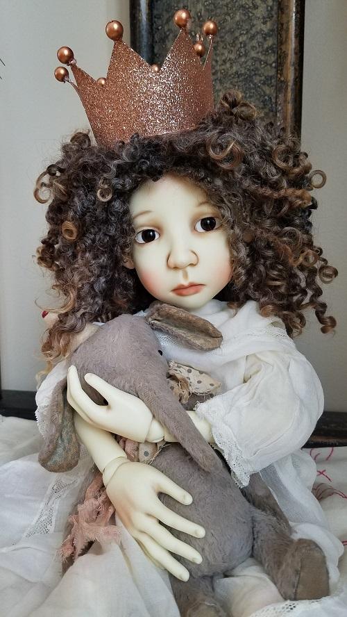"""12"""" ooak wool locks wig"""