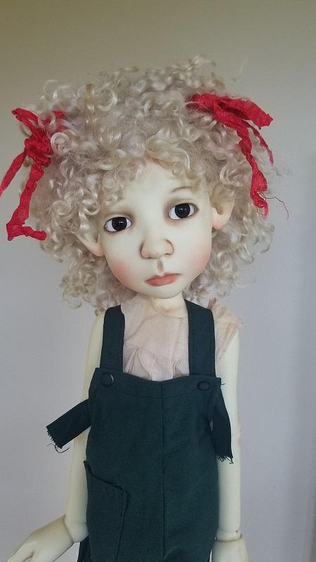 "12"" Angora wig"