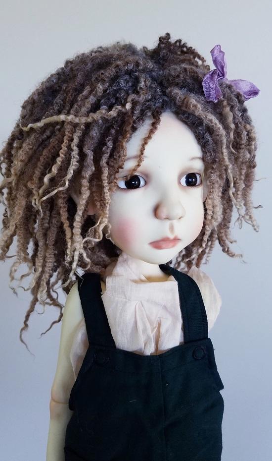 11-12 inch Natural dread wig