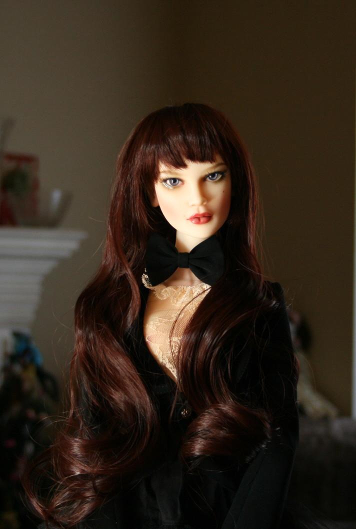 """8-9"""" Soul Double girl wig"""